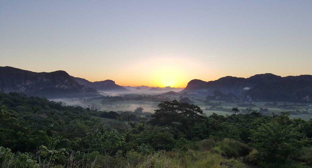 Sonnenaufgang Kuba - Hobbyfotografie